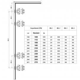 BBL für Bänder Serie VX  VN  A23