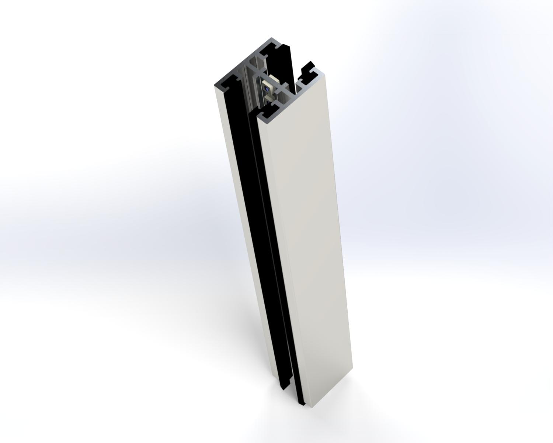 Paneo Glasverbinder mit LED