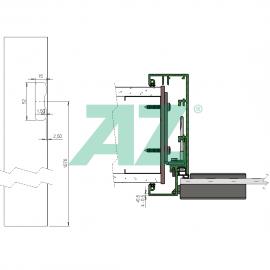 AZ Fallenausnehmung 29 GL 8-10mm