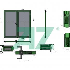 Aufbau OG752b47-TB58 2- flüglig