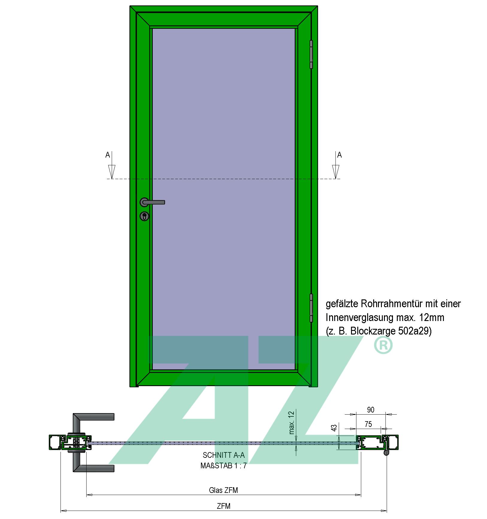 Aufbau RR716a29-TB43