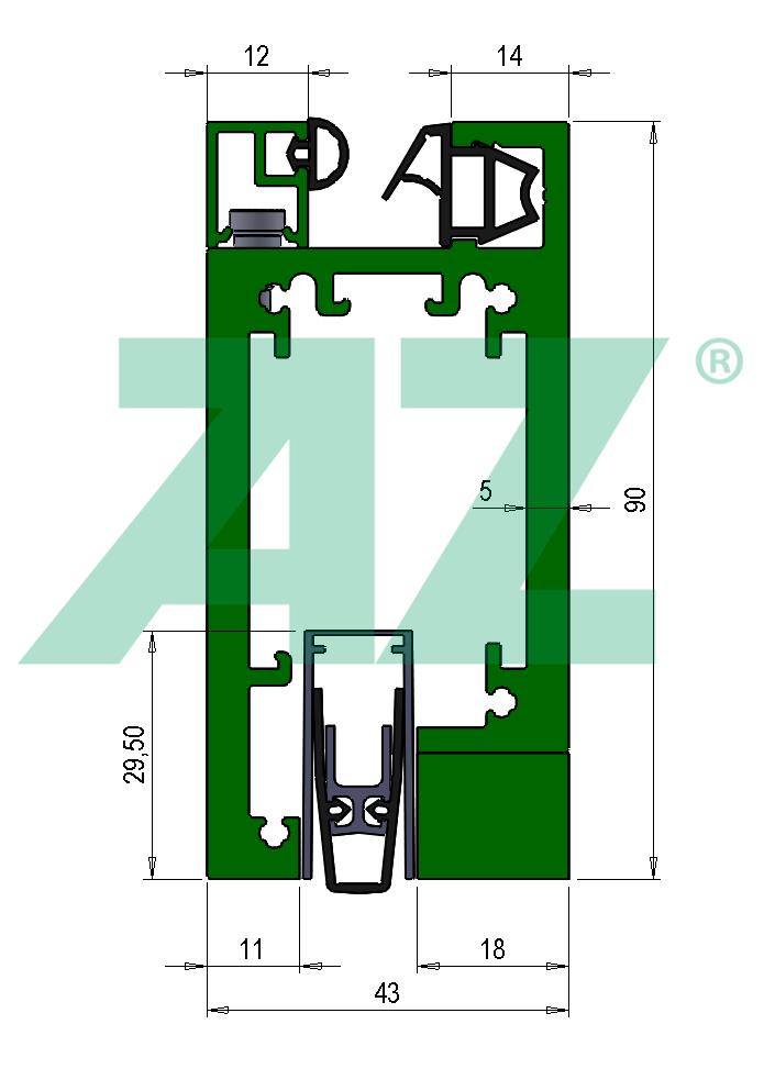 RR716a29-TB43 mit Bodendichtung